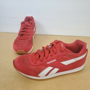 Reebok kids shoes size 2 red sneakers